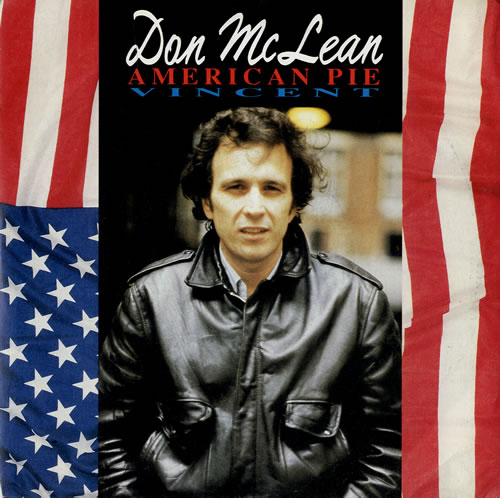 Don McLean American Pie 1991 UK 7 vinyl EMCT3