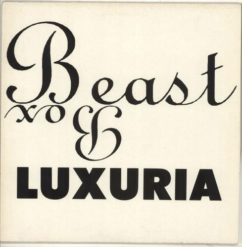 Luxuria Beast Box 1990 UK vinyl LP BEGA106