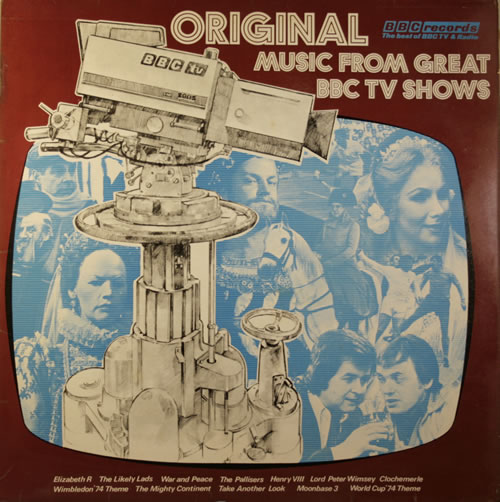 VariousFilm Radio Theatre & TV Original Music From Great BBC TV Shows 1974 UK vinyl LP REB188