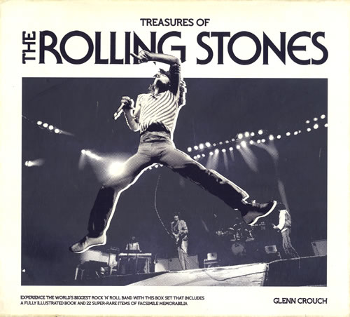Rolling Stones Treasures Of The Rolling Stones 2011 UK book 9781847328502