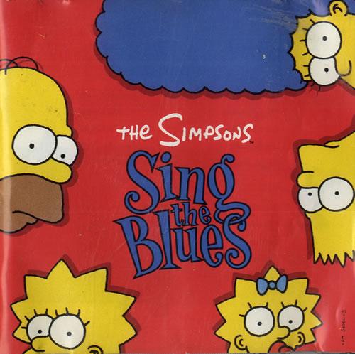 The Simpsons Sing The Blues 1990 UK CD album GFLD19201