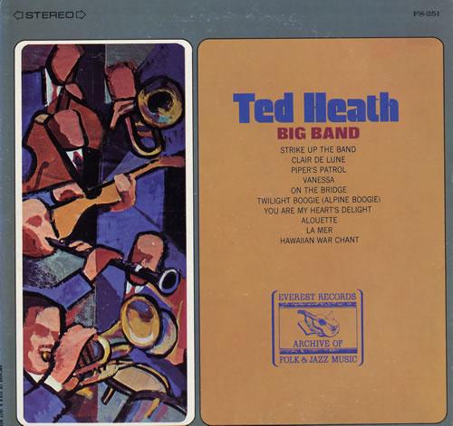 Ted Heath Big Band USA vinyl LP FS251