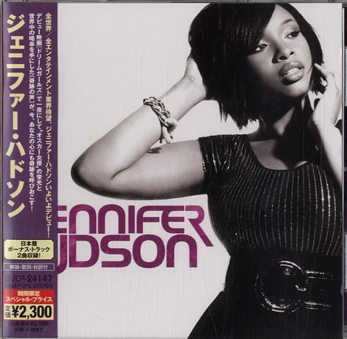 Jennifer Hudson Jennifer Hudson 2008 Japanese CD album BVCP24147