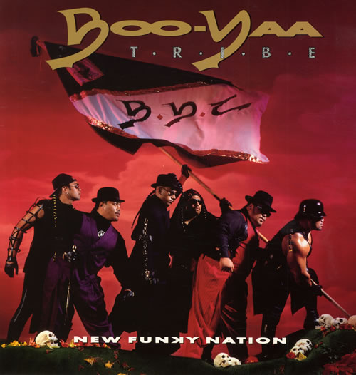 BooYaa Tribe New Funky Nation 1990 UK vinyl LP BRLP544
