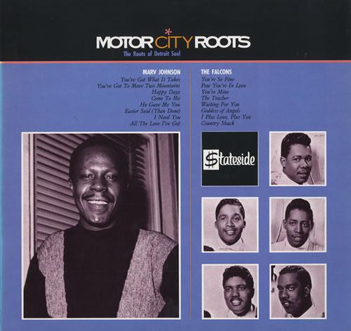 Marv Johnson Motor City Roots 1986 UK vinyl LP SSL6009