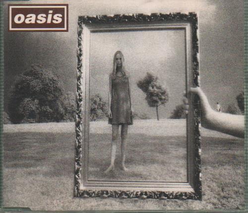Oasis Wonderwall 1995 UK CD single CRESCD215