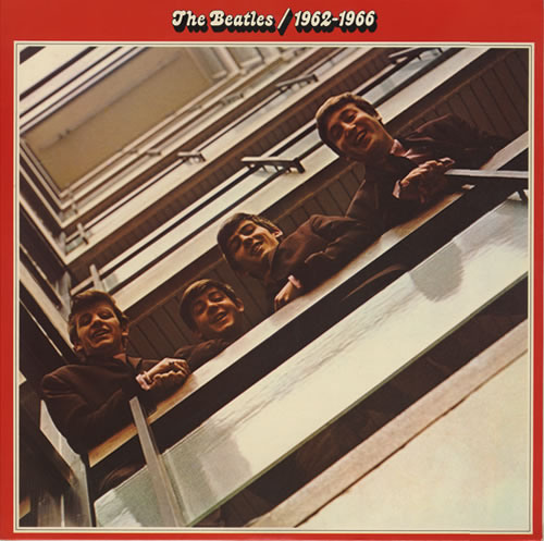 The Beatles The Beatles  19621966  1st  EX 1973 UK 2LP vinyl set PCSP717