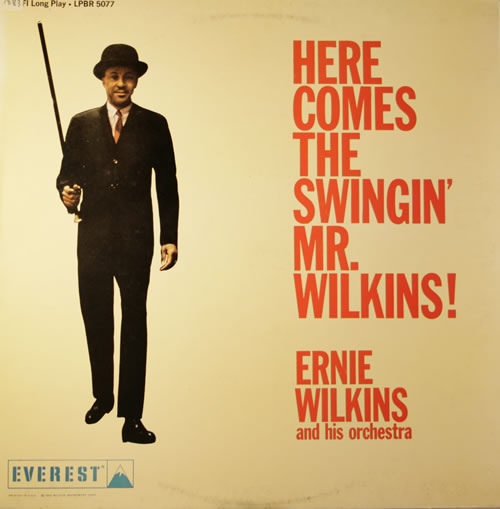 Ernie Wilkins Here Comes The Swingin\' Mr. Wilkins! 1985 Spanish vinyl LP FSR-511