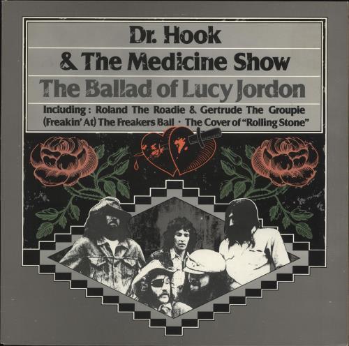 Image of Dr Hook The Ballad Of Lucy Jordan 1980 UK vinyl LP CBS31799