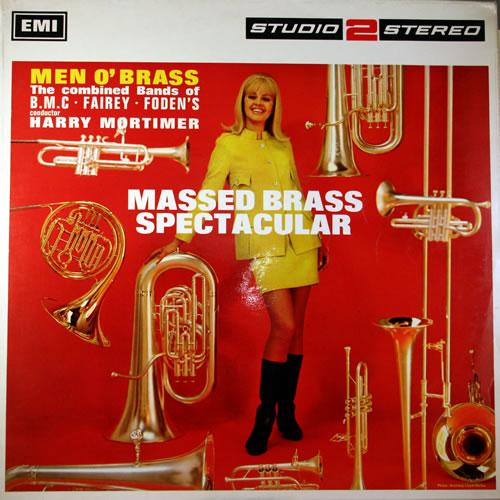 Image of Men O' Brass Mass Brass Spectacular 1967 UK vinyl LP TWO185