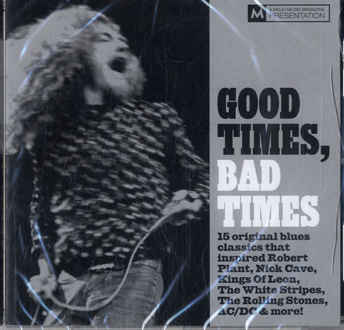 Led Zeppelin Good Times Bad Times 2010 UK CD album SEPTEMBER 2010