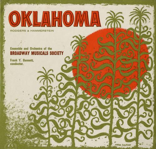 VariousFilm Radio Theatre & TV Oklahoma 1962 UK vinyl LP CM2256