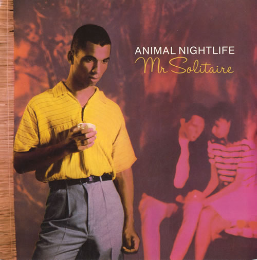Animal Nightlife Mr. Solitaire 1984 UK 7 vinyl IS193