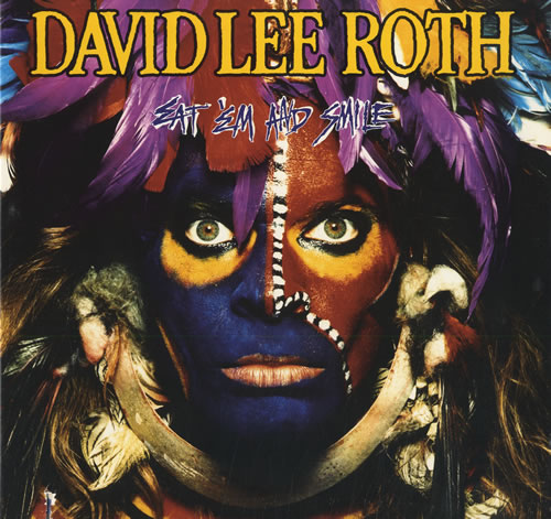 David Lee Roth Eat Em And Smile 1986 USA vinyl LP 254701