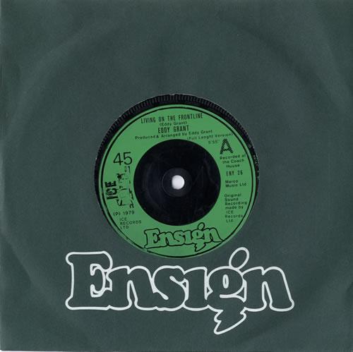 Eddy Grant Living On The Frontline 1979 UK 7 vinyl ENY26