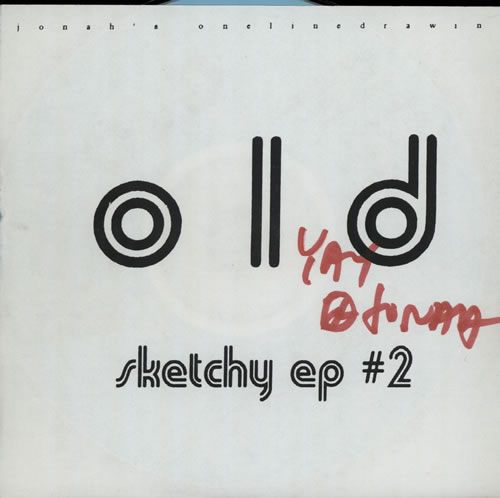 Onelinedrawing Sketchy EP 2  Autographed 1999 USA CD single AP258CD
