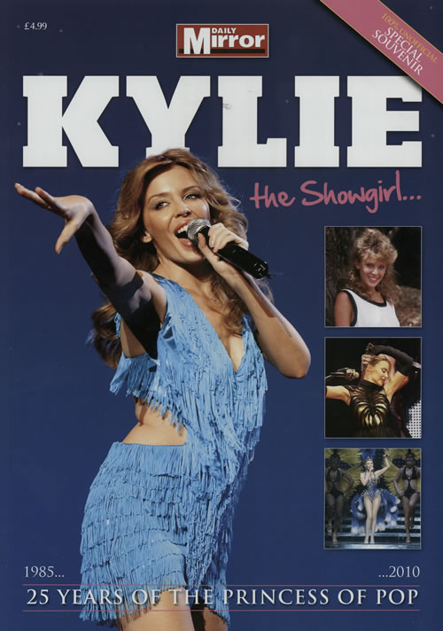 Kylie Minogue Kylie The Showgirl... 2010 UK magazine