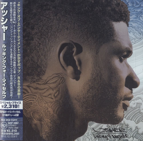 Usher Looking 4 Myself 2012 Japanese CD album SICP3487