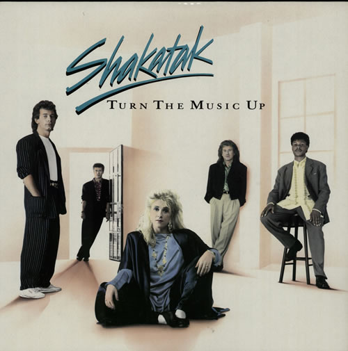 Shakatak Turn The Music Up 1989 UK vinyl LP 8410771