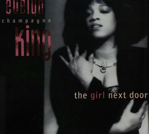 Evelyn Champagne King The Girl Next Door 1989 UK vinyl LP MTL1050
