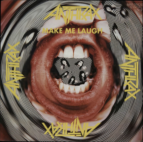 "Image of Anthrax Make Me Laugh - Sealed 1988 German 12"" vinyl 611738"