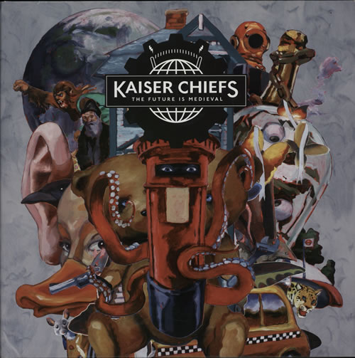 Kaiser Chiefs The Future Is Medieval  Numbered Sleeve 2011 UK 2LP vinyl set GUM003
