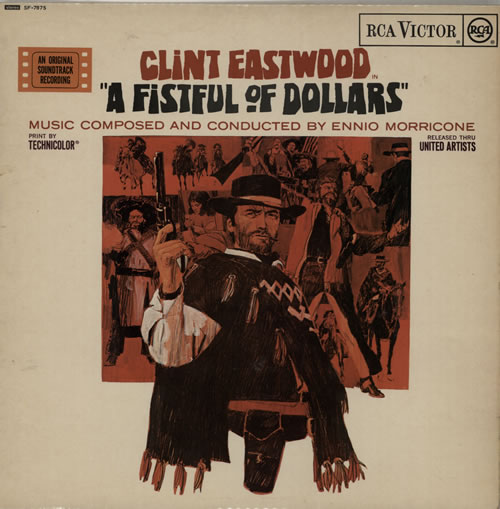Morricone, Ennio - A Fistful Of Dollars - Red Spot