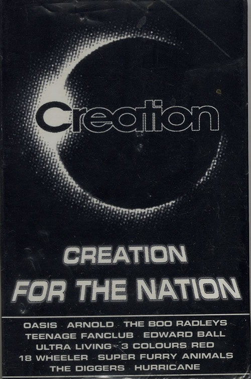 Creation Records Creation For The Nation - Sealed 1997 UK cassette album CREFREE97