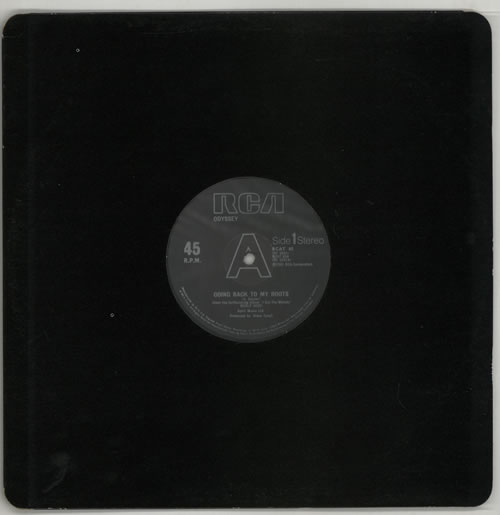 Odyssey Going Back To My Roots 1981 UK 12 vinyl RCAT85