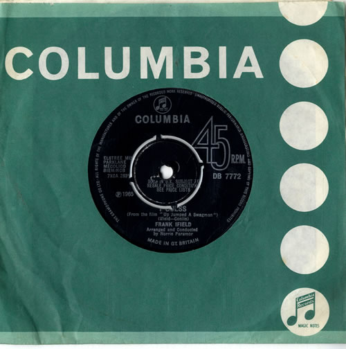 Frank Ifield I Guess  Sample 1965 UK 7 vinyl DB7772
