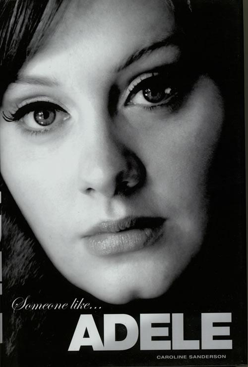 Adele Someone Like... Adele 2012 UK book 9781780383088