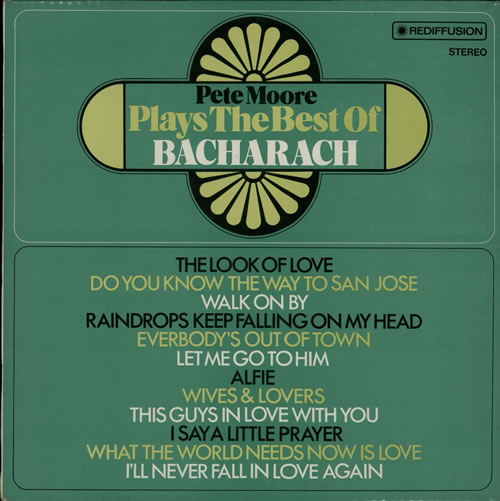 Plays The Best Of Bacharach