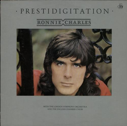 Ronnie Charles Prestidigitation 1975 UK vinyl LP BT491