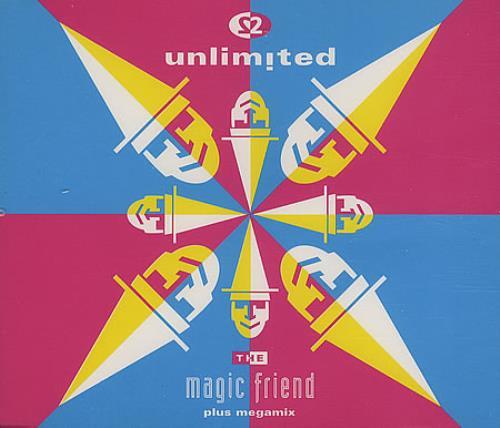 2 Unlimited The Magic Friend 1992 UK CD single PWCD240