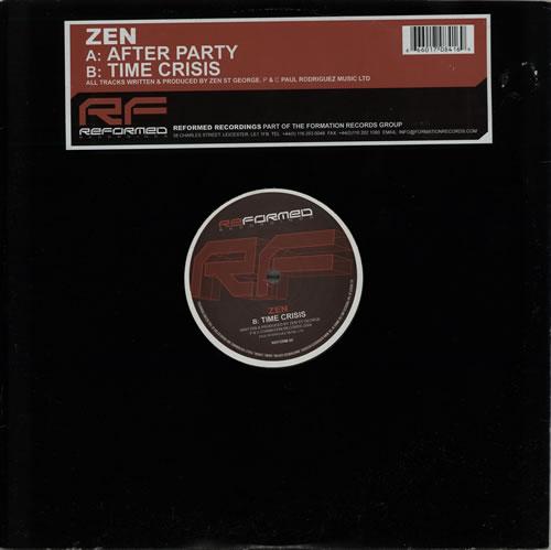 Zen After Party 2004 UK 12 vinyl REFORM09