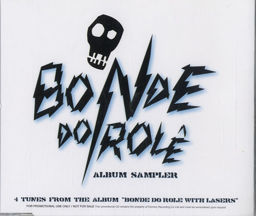 Bonde Do Role With Lasers  Album Sampler 2007 UK CD single WIGCD193SP