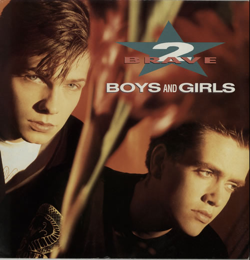 2 Brave Boys And Girls 1989 UK 12 vinyl LONX237