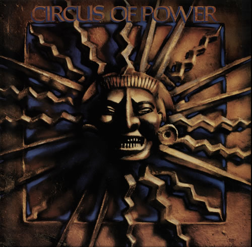 Circus Of Power Circus Of Power 1988 German vinyl LP PL88464