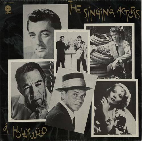 VariousFilm Radio Theatre & TV The Singing Actors Of Hollywood 1976 French 2LP vinyl set 2C1848211011