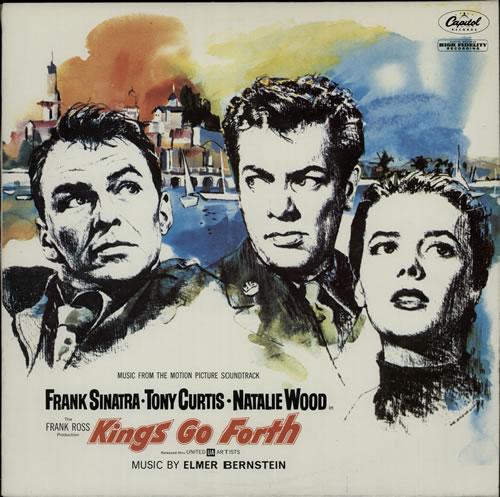 Elmer Bernstein Kings Go Forth 1981 Australian vinyl LP AUSLP1004