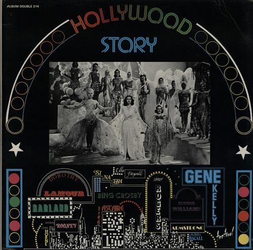 VariousFilm Radio Theatre & TV Hollywood Story French 2LP vinyl set ALBUM214