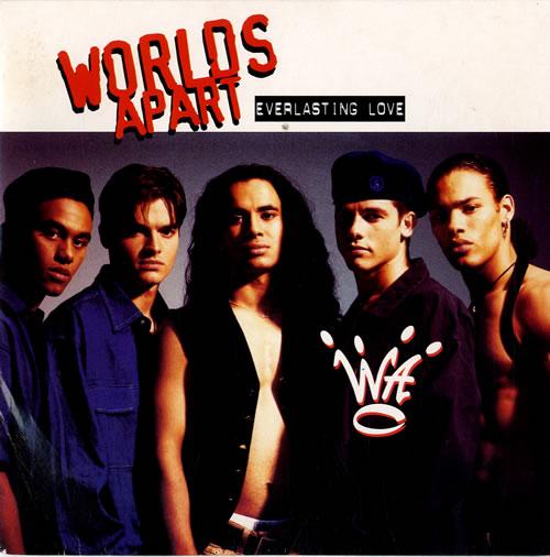 Worlds Apart Everlasting Love 1993 UK 7\