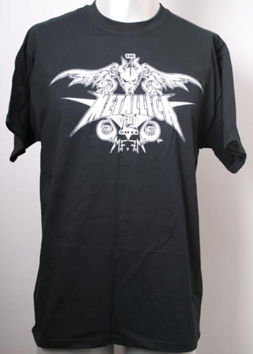 Metallica The Metallica Club 2011 2001 USA tshirt CLUB TSHIRT