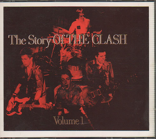 The Clash The Story Of The Clash Volume 1 1988 UK 2CD album set CBS4602442
