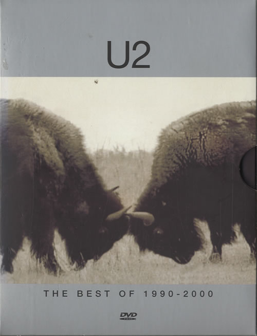 U2 The Best Of 1990-2000 + The History Mix DVD 2002 UK DVD 063510-9