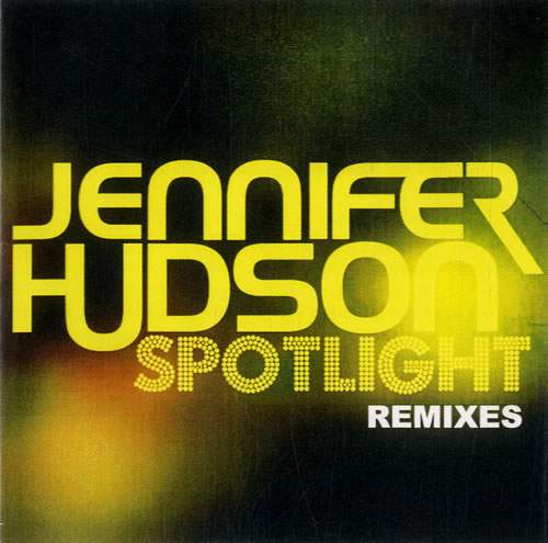 Jennifer Hudson Spotlight  Remixes 2008 Japanese CDR acetate CDR ACETATE
