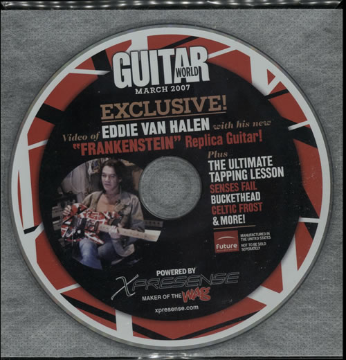 Van Halen Guitar World 2007 USA DVD MARCH