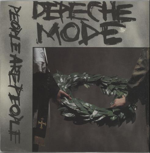 "Image of Depeche Mode People Are People 1984 Australian 7"" vinyl POW0197"