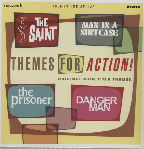 Various-Film, Radio, Theatre & TV Themes For Action! 2013 UK 7\