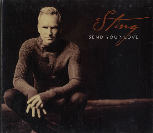 Image of Sting Send Your Love 2003 Australian CD single 9810103